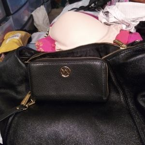 Real Michael kors purse and wallet.